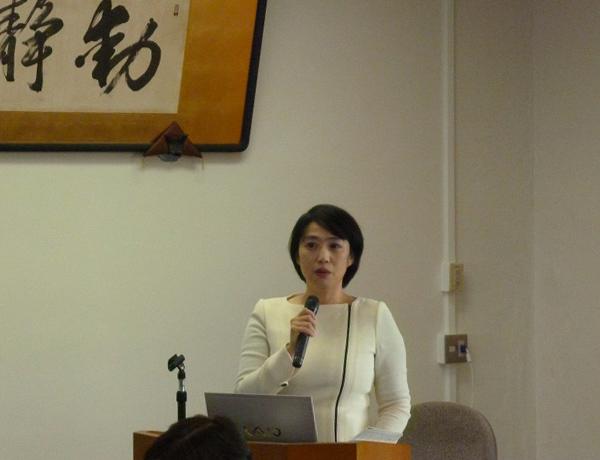 平成29年度のFDで講師を務められた 佐々木成江氏(名古屋大学准教授)
