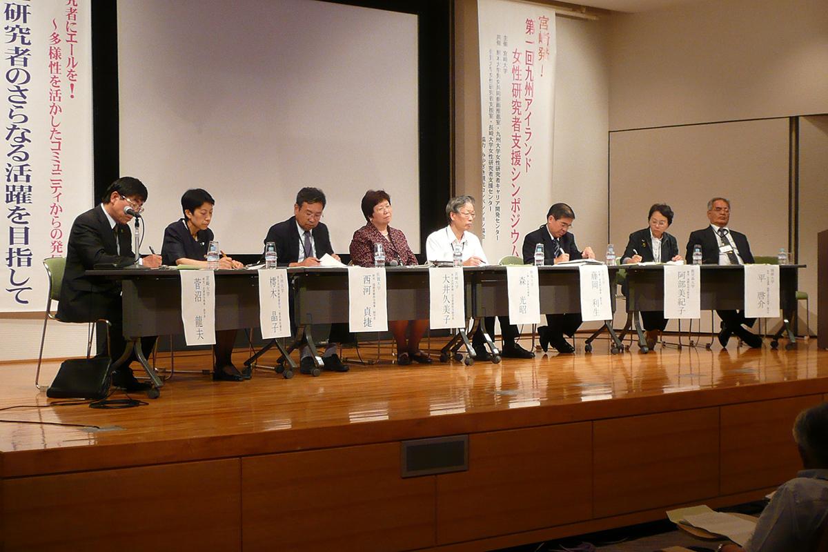 2009年に開催した第1回シンポジウム