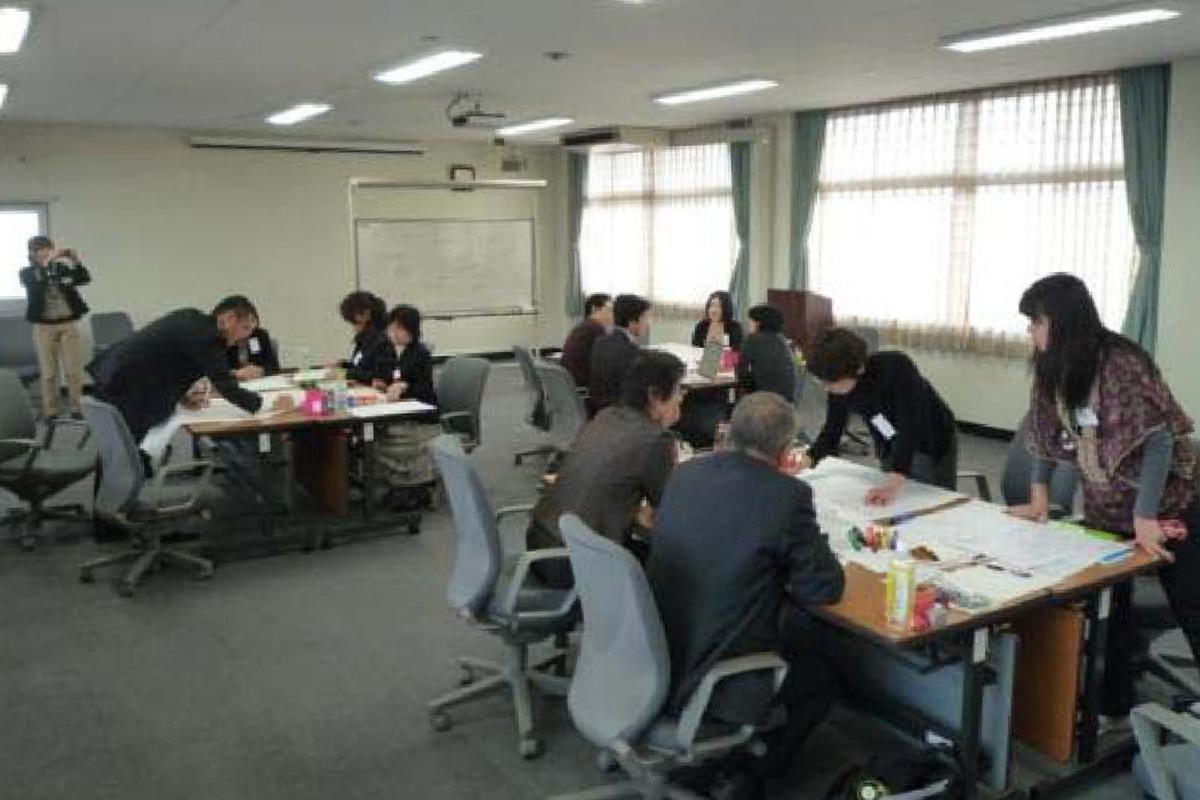 2010年開催の第1回学習会(於:大分大学)